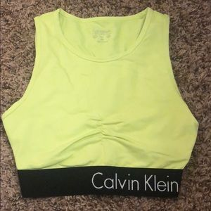 Calvin Klein active crop top